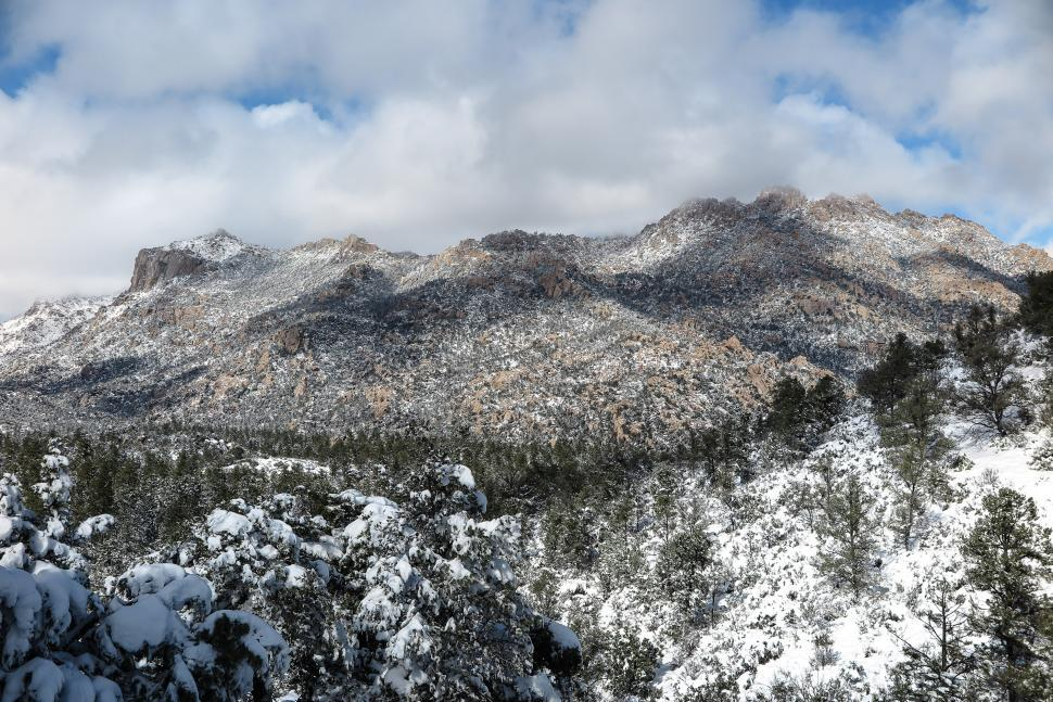 Download Free Stock HD Photo of Snowy valley Online