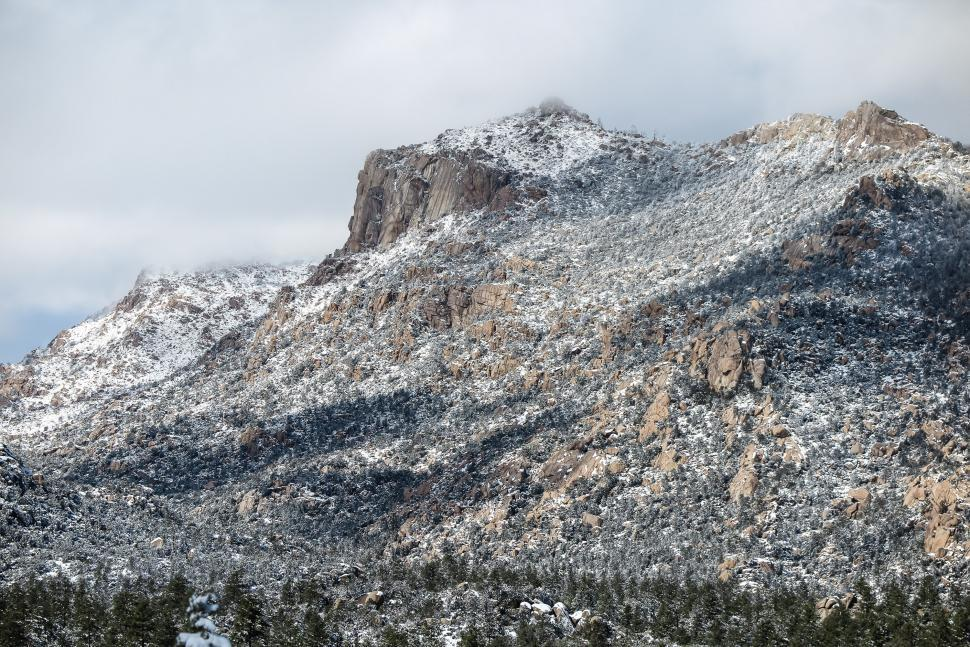 Download Free Stock HD Photo of Granite Mountain Cliffs Online