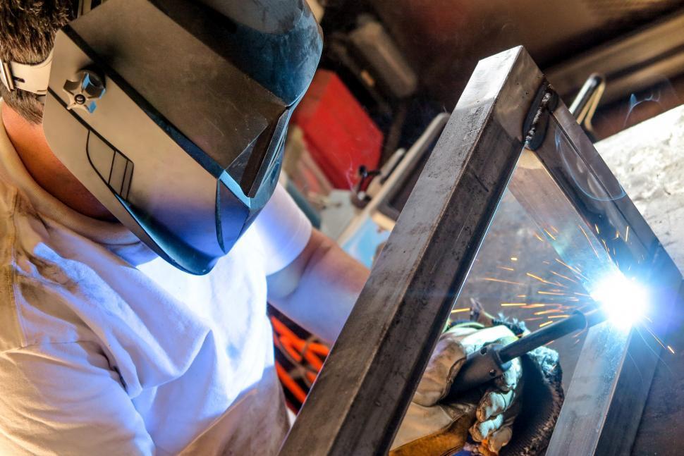 Download Free Stock HD Photo of Welding shop Online