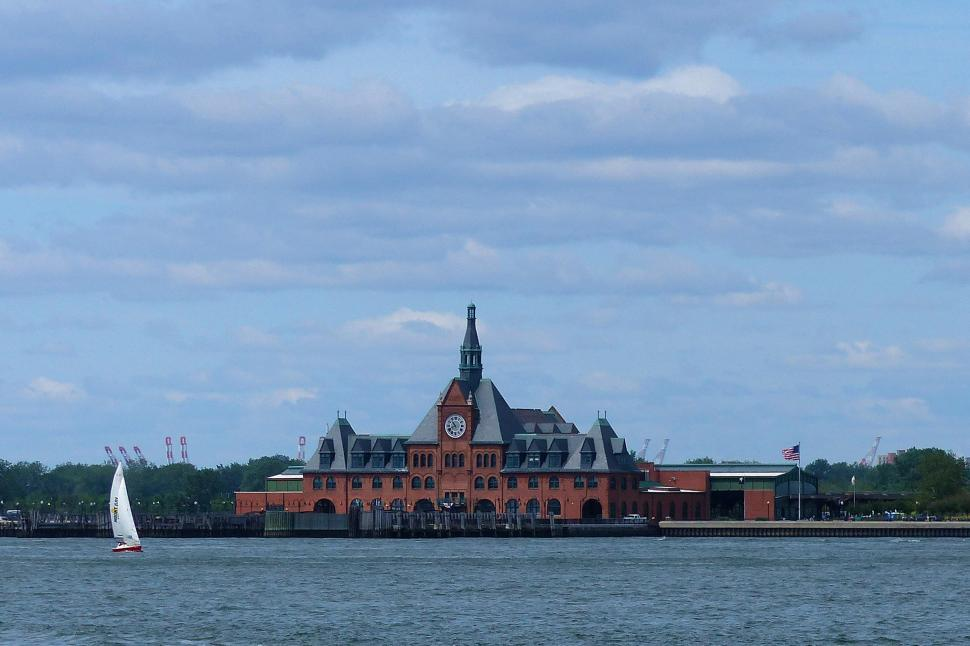 Download Free Stock HD Photo of Central Railroad of New Jersey Terminal Online