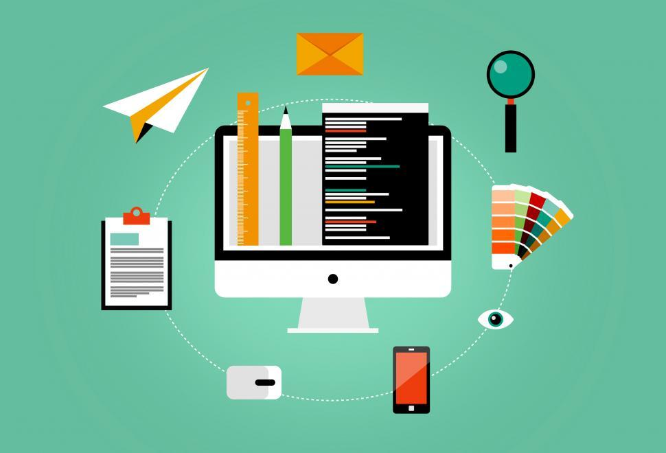 Download Free Stock HD Photo of Web Design and Development Online