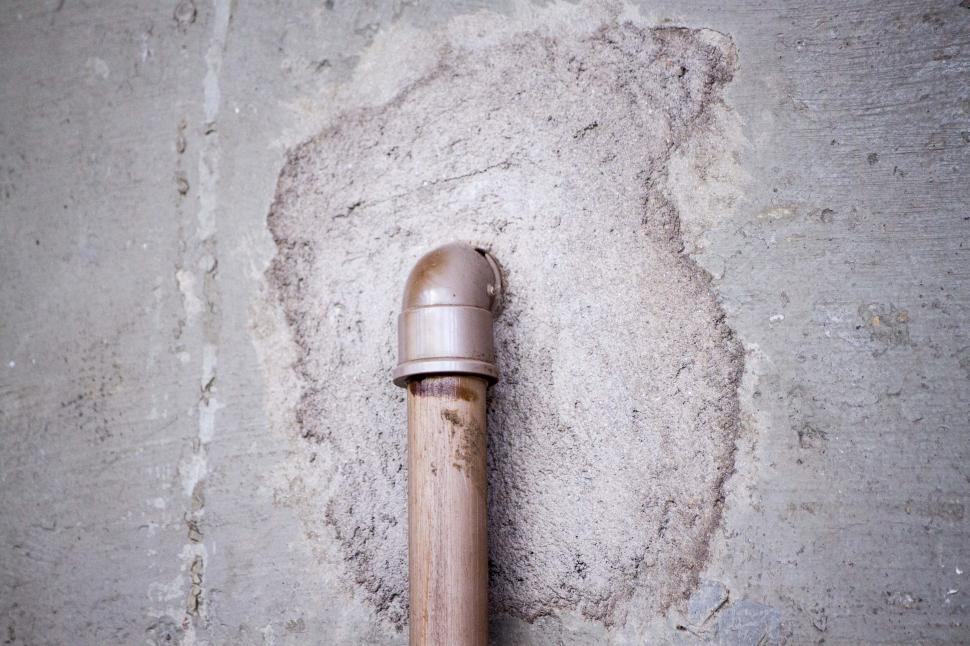 Download Free Stock HD Photo of Pipe in wall Online