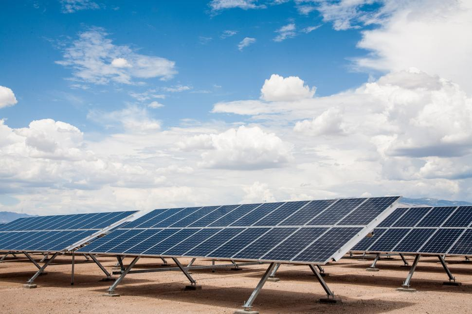 Download Free Stock HD Photo of Solar Power Array Online