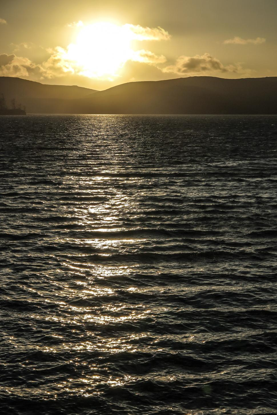 Download Free Stock Photo of Looking into the sunset