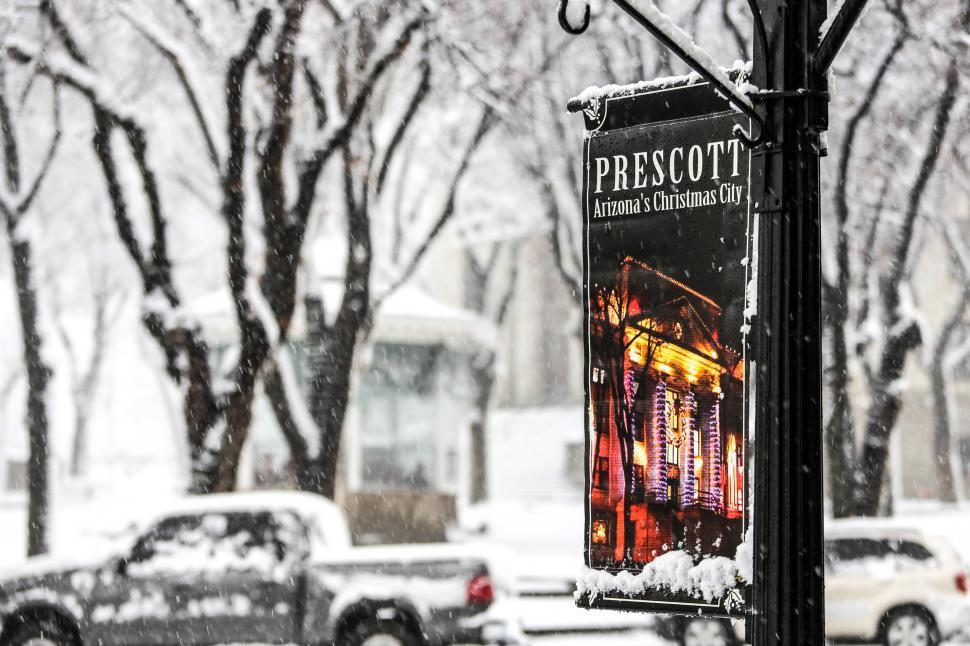 Download Free Stock HD Photo of Prescott Arizona banner Online