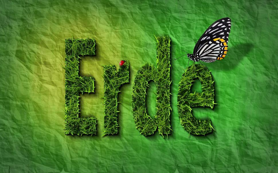 Download Free Stock Photo of composite manipulation photo manipulation plant leaf fern summer natural growth spring pattern garden
