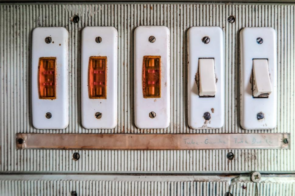 Download Free Stock HD Photo of Switches and lights Online