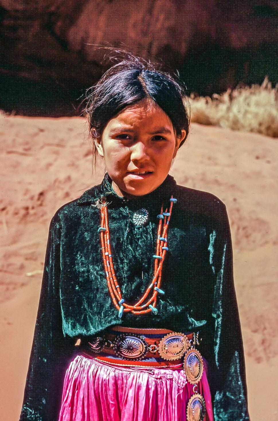 Download Free Stock HD Photo of Native American Girl Online