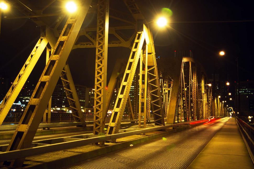 Download Free Stock HD Photo of Bridge in Portland Oregon Online