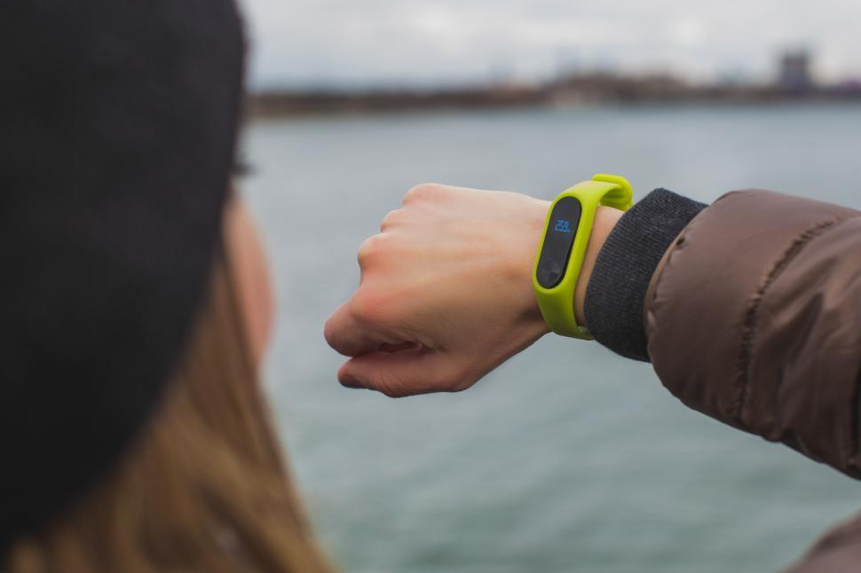 Download Free Stock Photo of Fitness Tracker