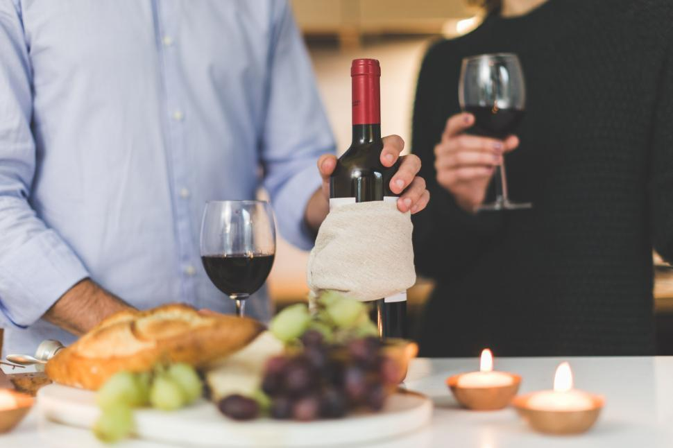 Download Free Stock HD Photo of Wine And Cheese Online