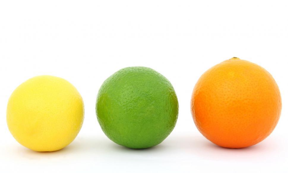 Download Free Stock Photo of citrus fruit food healthy fresh diet juicy orange lime sweet yellow ball lemon tennis fruits delicious ripe health vitamin organic freshness relish