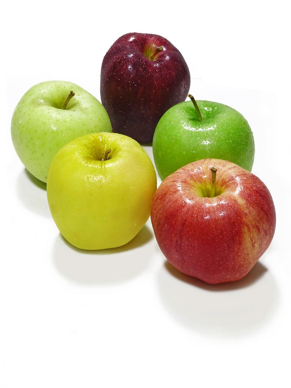Download Free Stock Photo of Bunch of Apples