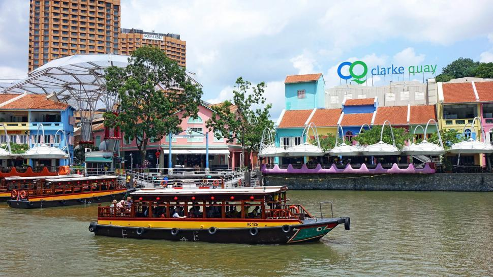 Download Free Stock HD Photo of Clarke Quay Online