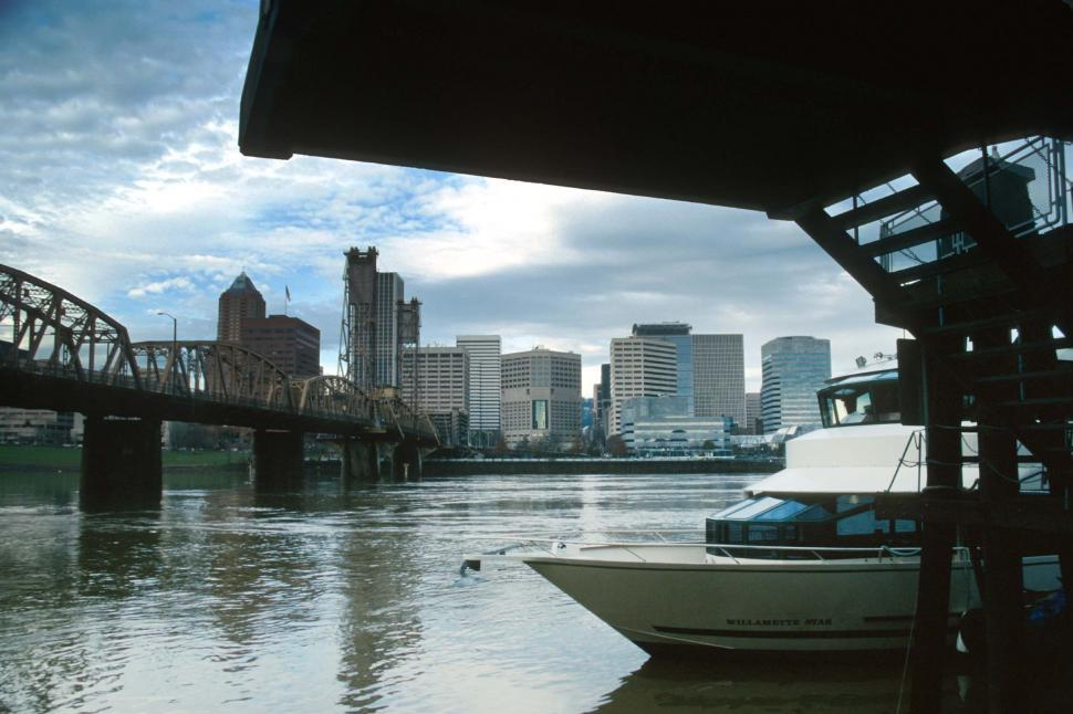 Download Free Stock HD Photo of Boat dock on the River Online