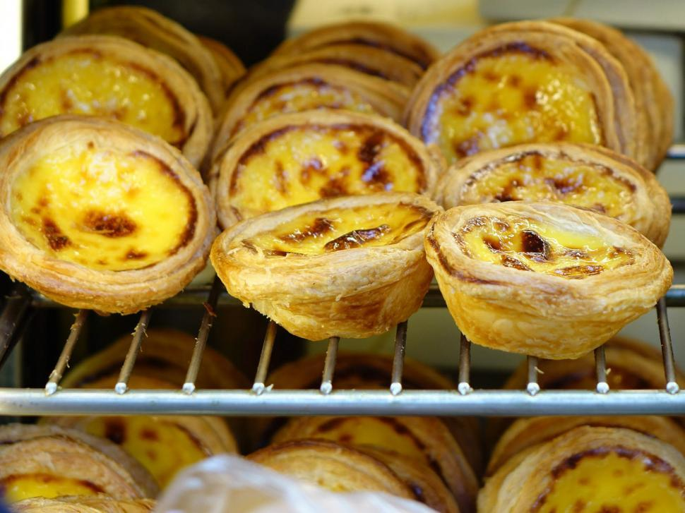Download Free Stock HD Photo of Portuguese Egg Tart Online
