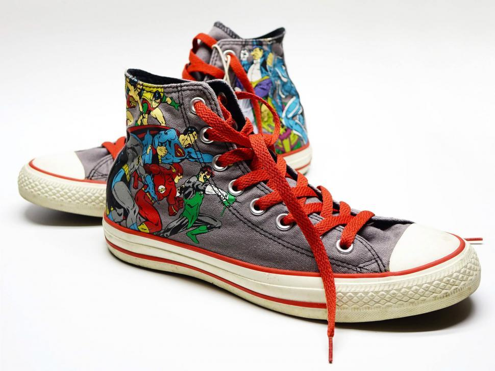 Download Free Stock Photo of Super Hero Shoes