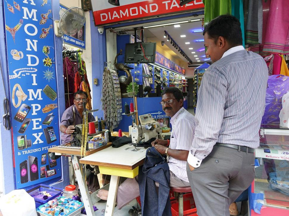 Download Free Stock Photo of Tailor Shop