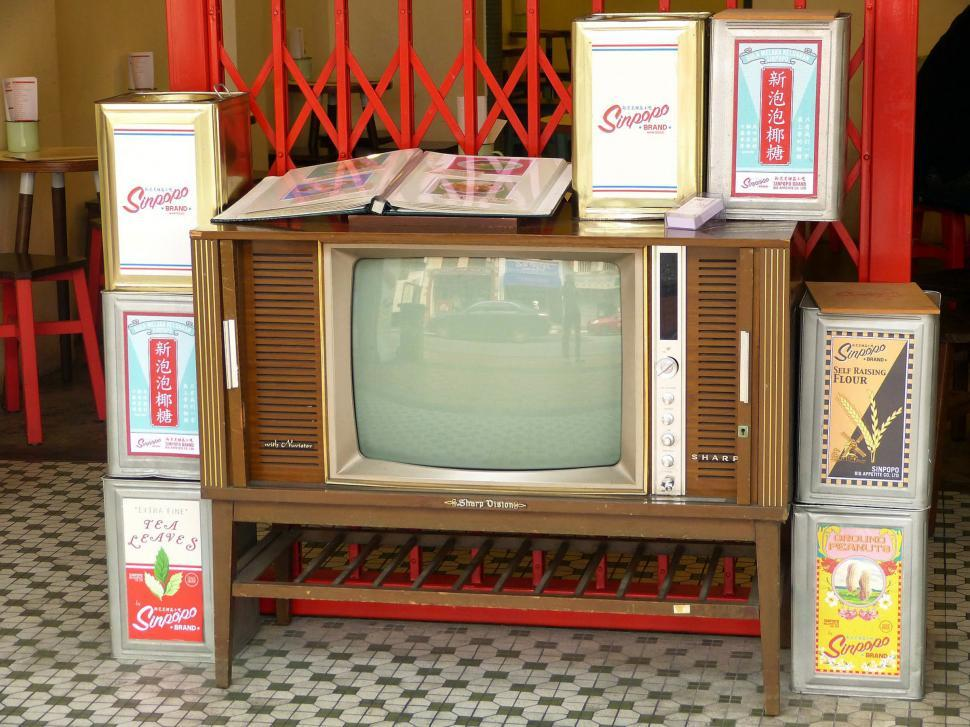 Download Free Stock Photo of Old Television