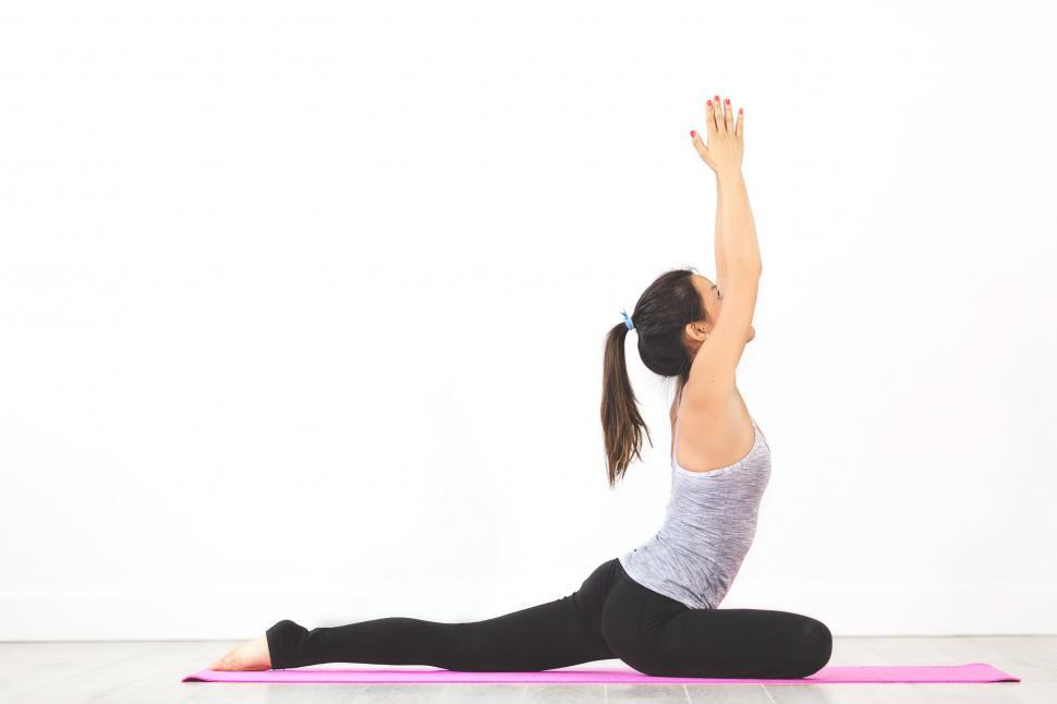 Download Free Stock HD Photo of Pigeon Pose Online