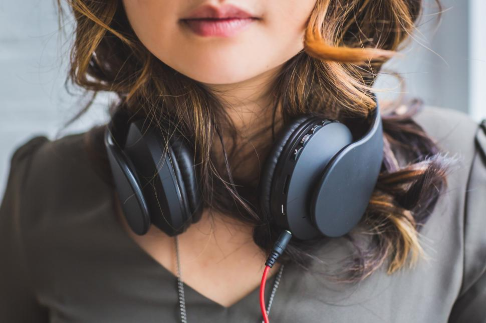 Download Free Stock Photo of Music Lover