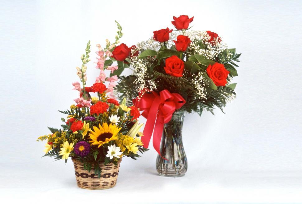 Download Free Stock HD Photo of Commercial flower arrangements Online