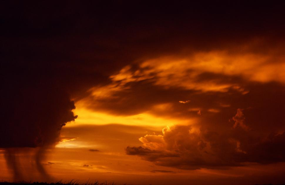 Download Free Stock HD Photo of Dramatic Sunset Sky Online