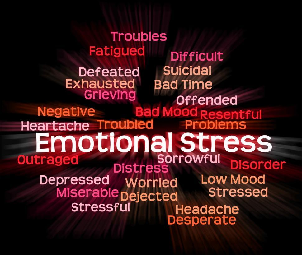Download Free Stock HD Photo of Emotional Stress Shows Heart Rending And Emotions Online