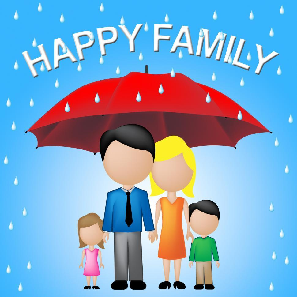 Download Free Stock HD Photo of Happy Family Indicates Parenting Joy And Fun Online