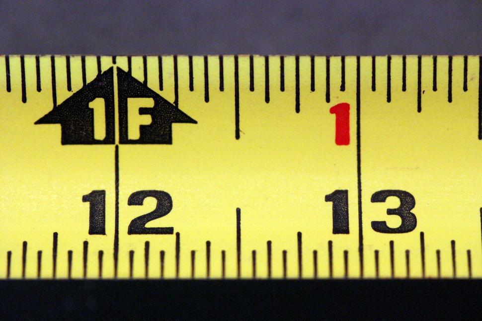 Download Free Stock HD Photo of Tape measure – one foot Online