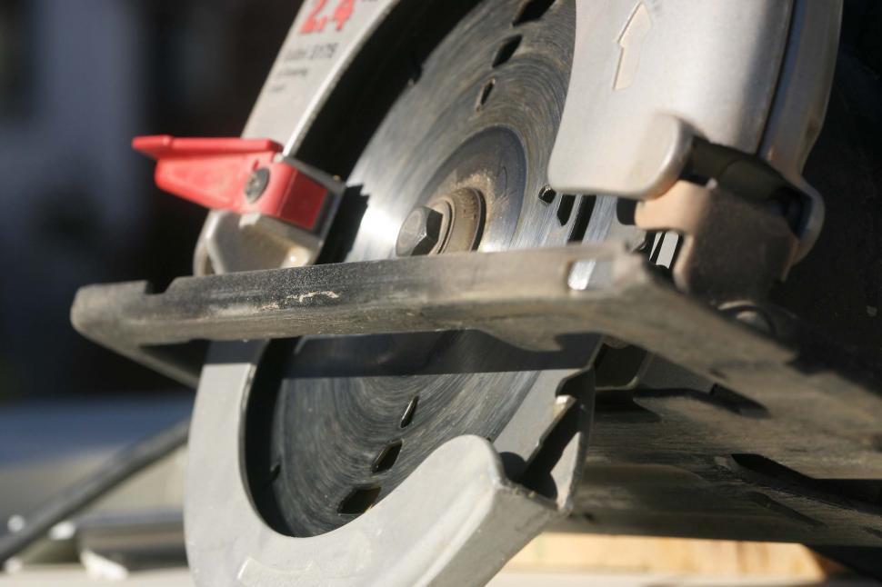 Download Free Stock Photo of Circular saw