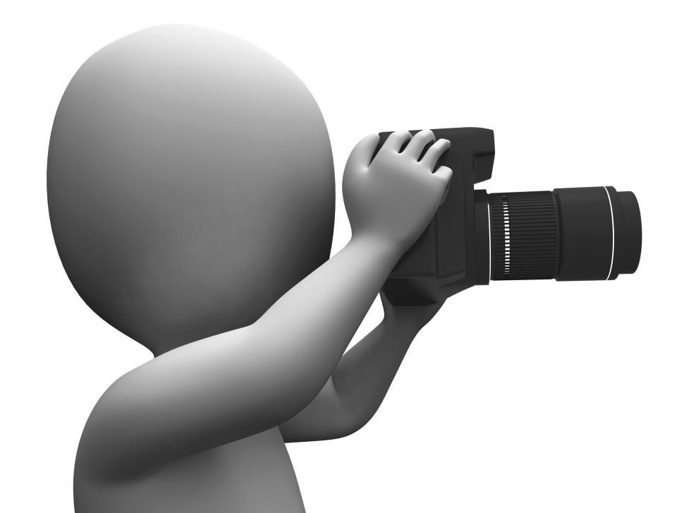 Download Free Stock HD Photo of Photo Character Shows Photographic Dslr And Photography Online