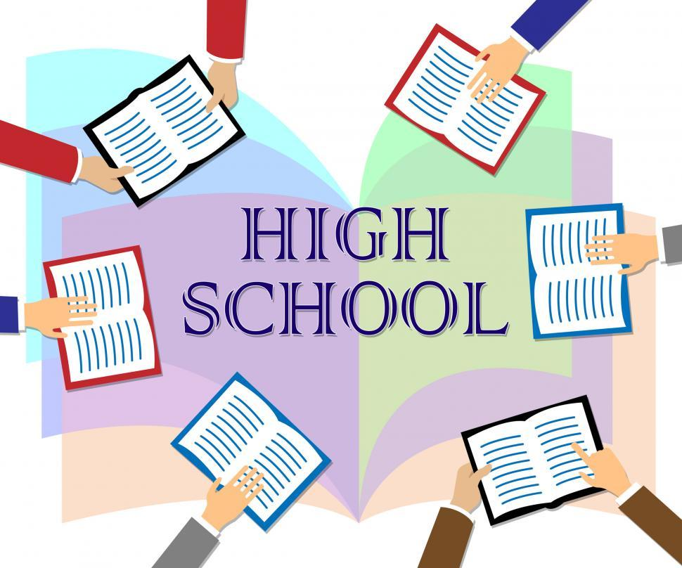 Download Free Stock HD Photo of High School Represents Ninth Grade And College Online
