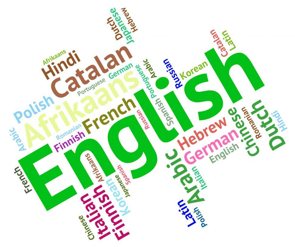 Download Free Stock HD Photo of English Language Means Learn Catalan And Dialect Online