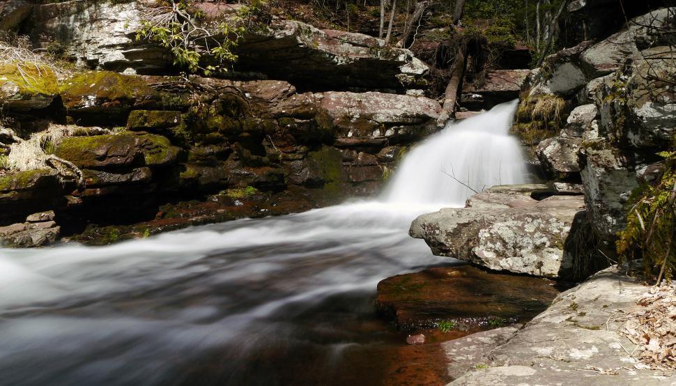 Download Free Stock Photo of Flowin Van Campens Glen