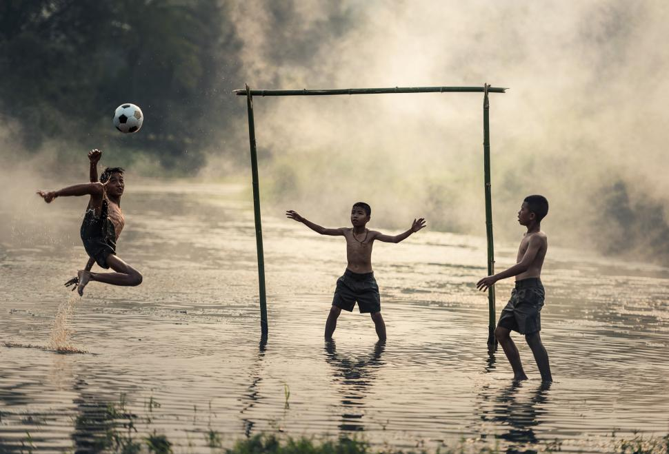 Download Free Stock HD Photo of Bicycle Kick Online