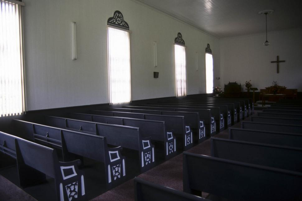 Download Free Stock Photo of empty church