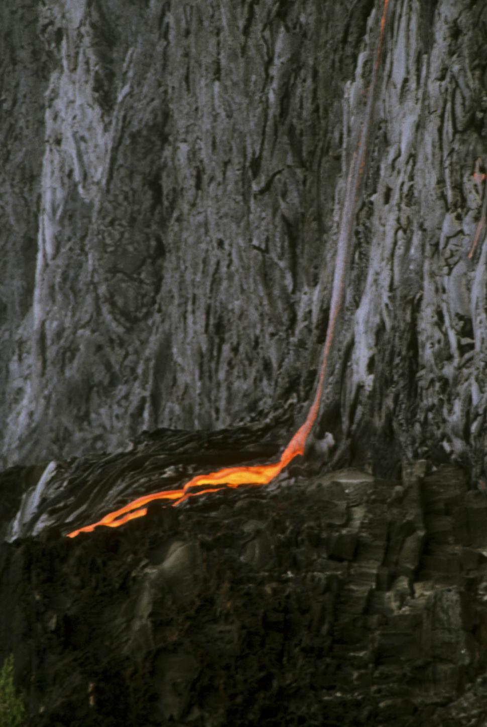 Download Free Stock HD Photo of daytime lava flows Online