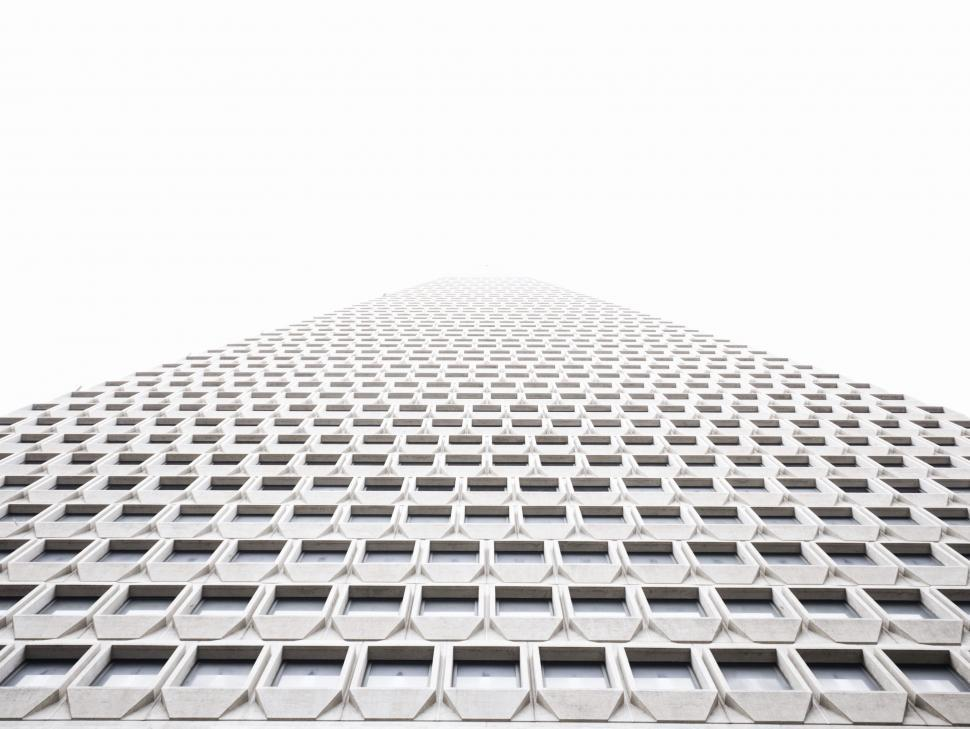 Download Free Stock Photo of Buildings design business pattern graphic technology