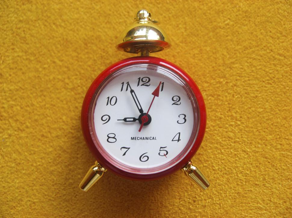 Download Free Stock HD Photo of traditional alarm clock Online
