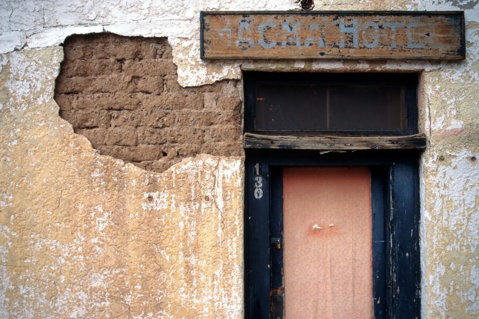 Download Free Stock HD Photo of Adobe Hotel doorway Online