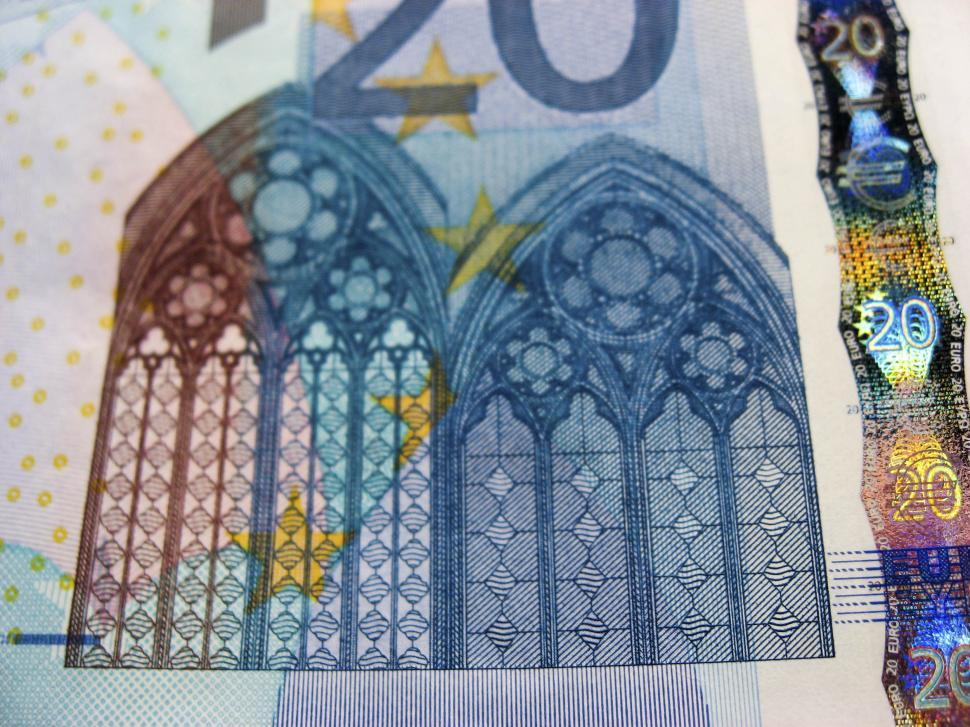 Download Free Stock Photo of euro banknote detail