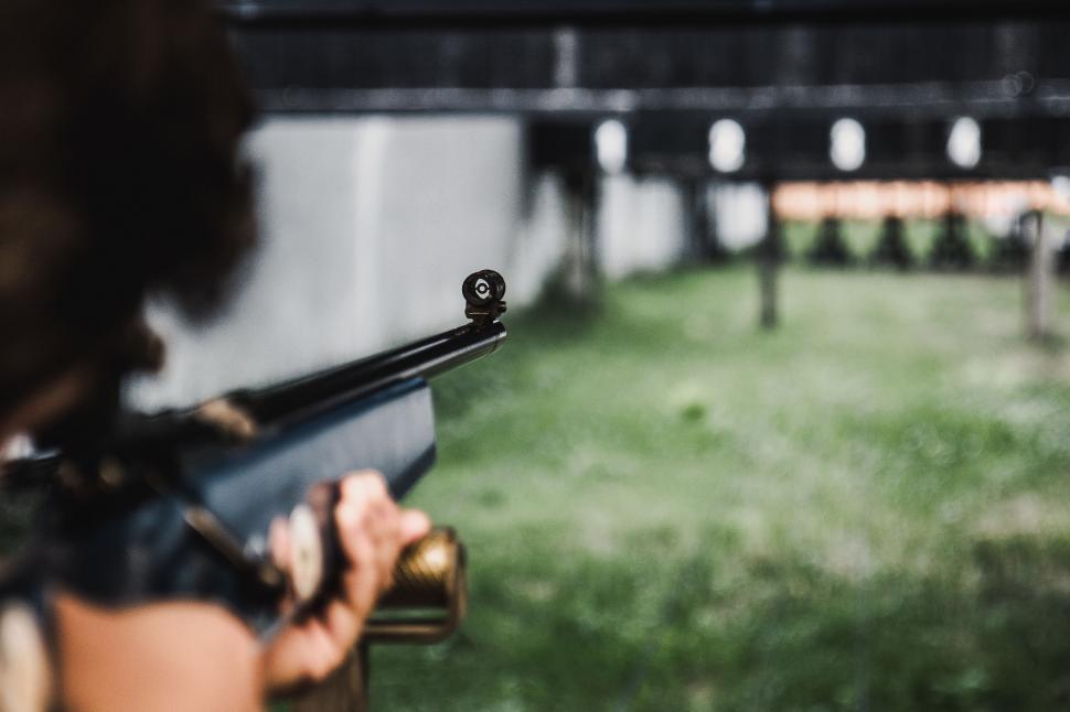 Download Free Stock Photo of gun firearm weapon pistol revolver assault rifle automatic firearm man rifle automatic rifle
