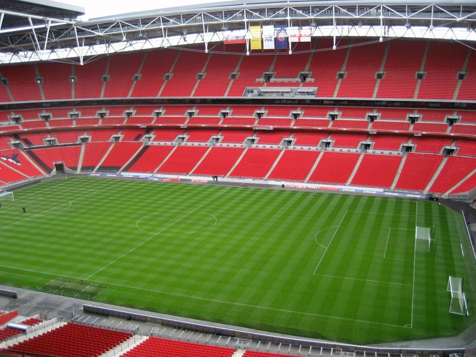 Download Free Stock Photo of wembley stadium