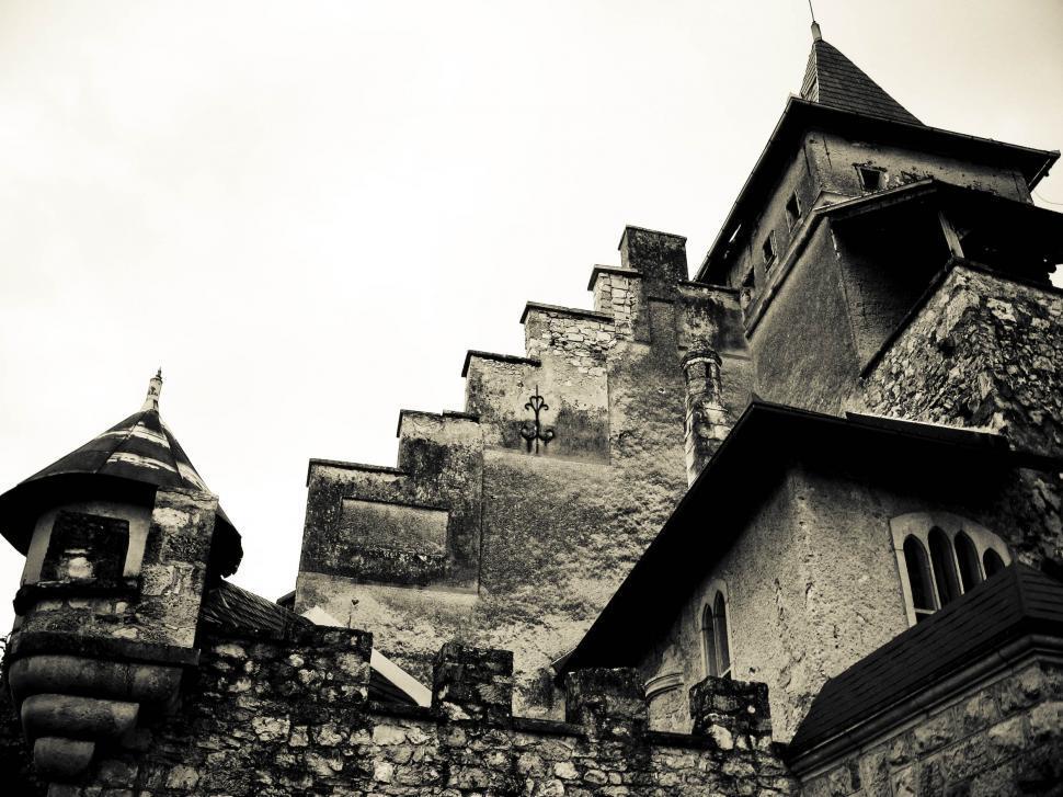Download Free Stock Photo of dark castle
