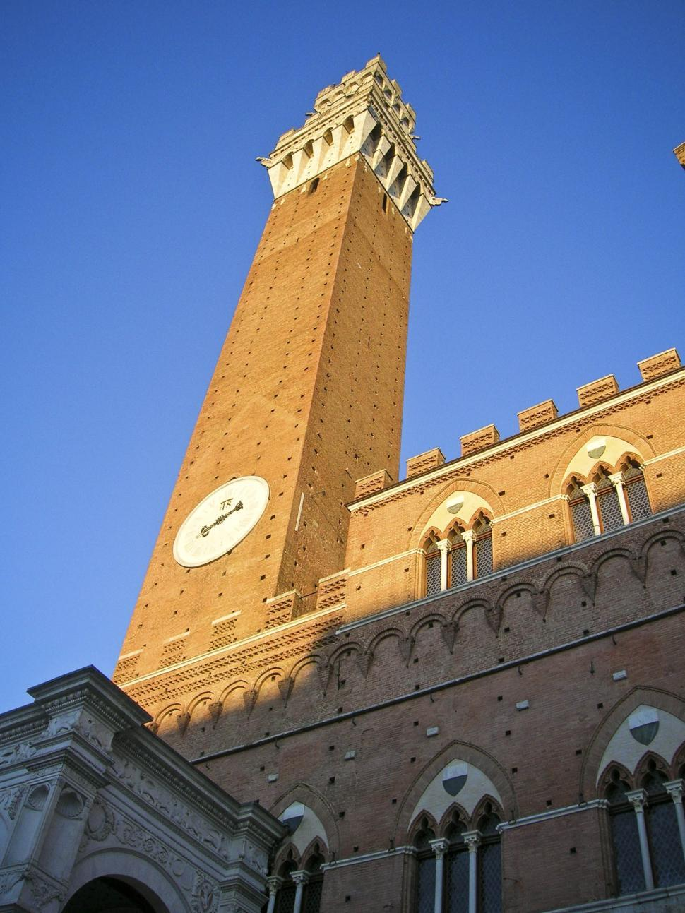Download Free Stock Photo of Siena italy clock