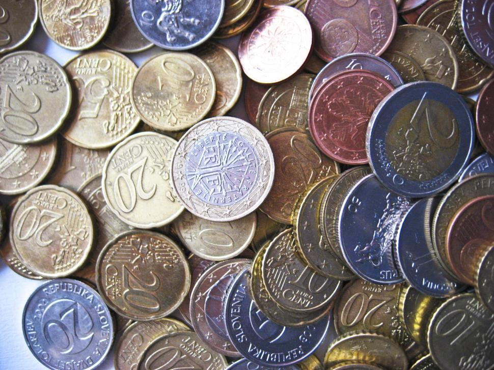 Download Free Stock Photo of coins