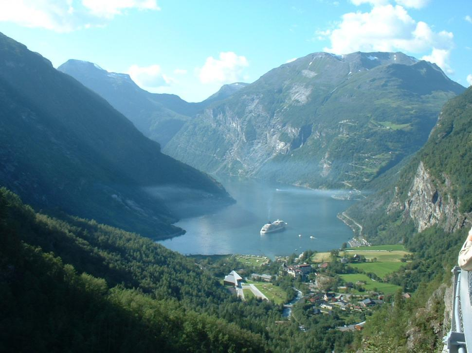 Download Free Stock HD Photo of Geiranger Fjord Online